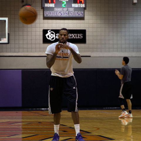 Phoenix Suns in Training